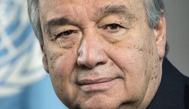 Secretario General de la ONU Antonio Guterres
