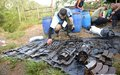 UN Mission finalises extraction of arms caches and laying down of weapons of the FARC-EP