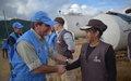 Jefe de Observadores de la Misión de la ONU en Colombia visitó la ZVTN Agua Bonita en Caquetá