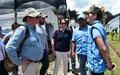 Misión de la ONU acompañó visita de delegación de la Unión Europea a ETCR en La Carmelita, Putumayo.