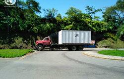 Desplazamiento contenedor de la Misión de la ONU desde Aguabonita, Caquetá
