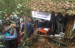 La prensa fue invitada a cubrir algunos ejercicios prácticos del ultimo día de la capacitación de siete días para futuros integrantes del mecanismo de monitoreo y verificación del cese al fuego bilateral y definitivo, integrado por hombres y mujeres del Gobierno de Colombia, de las FARC-EP y observadores internacionales de la Misión de la ONU en Colombia.