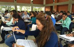 Integrantes de las FARC-EP participan de capacitación c/ Gobierno de Colombia y Misión de la ONU. Se preparan para integrar el mecanismo tripartito para verificar y monitorear el cese al fuego y de hostilidades bilateral y definitivo.
